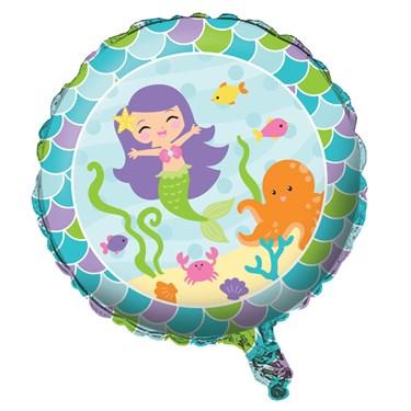 """Mermaid Friends 18"""" Foil Balloon"""