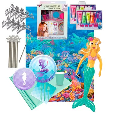 Mermaid Ultimate Experience Party Pack for 8