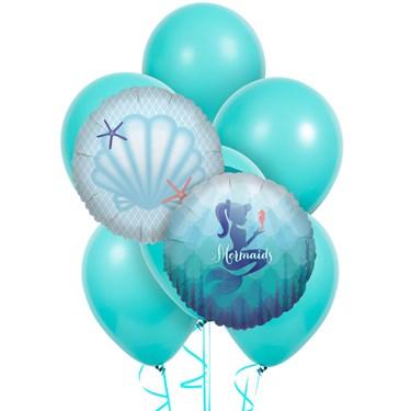 Mermaids Under the Sea 8 pc Balloon Kit