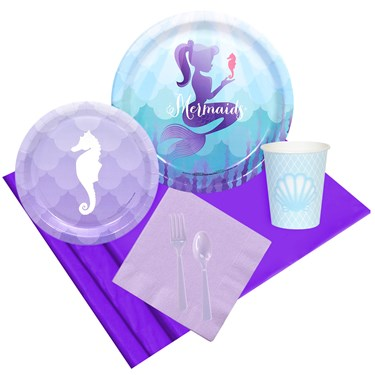 Mermaids Under the Sea Party Pack for 8
