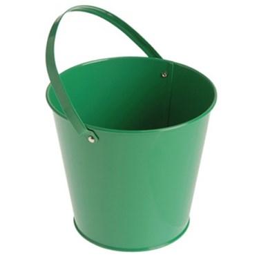 Metal Bucket - Green