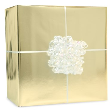 Metallic Gold Gift Wrap Kit