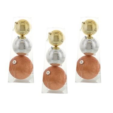 Metallic Ornament Set (9)