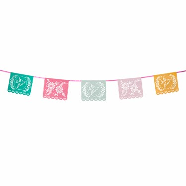 Mexicana Garland with 10 flags