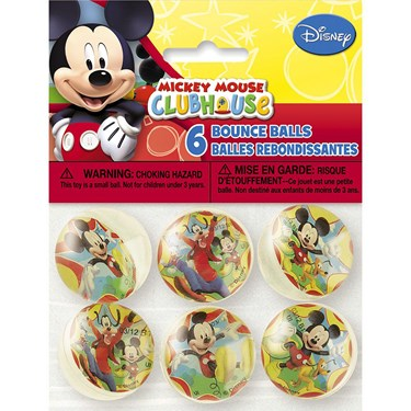 Mickey Mouse Bounce Ball Favors (6)