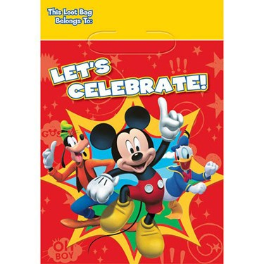 Mickey Mouse Loot Bags (8)