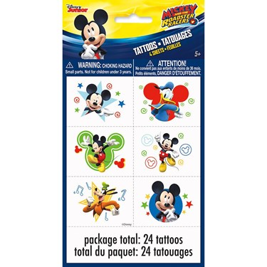 Mickey Mouse Tattoo Sheets (4)