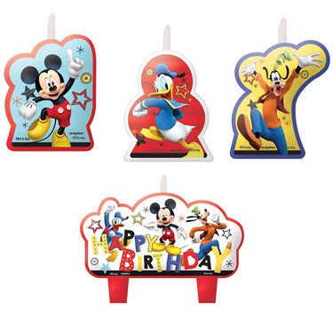 Mickey On The Go Candles