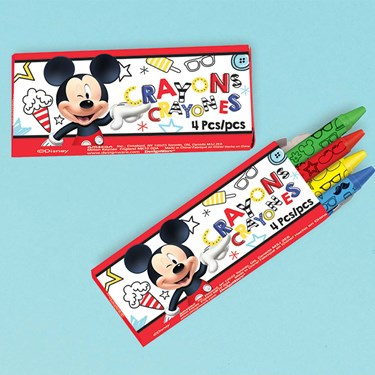Mickey On The Go Crayons (12)