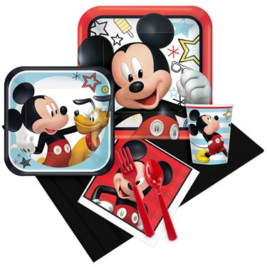 Mickey On The Go Party Pack for 8