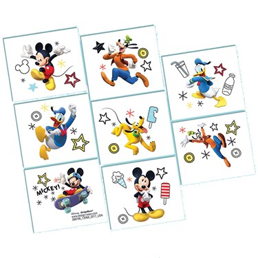 Mickey On The Go Tattoo Sheet (1)