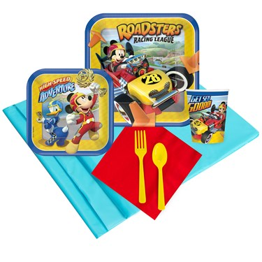 Mickey Roadster 16 Guest Party Pack