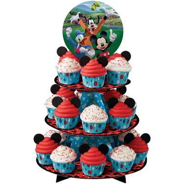 Mickey Roadster Cupcake Stand