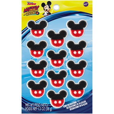 Mickey Roadster Edible Icing Decorations (1)
