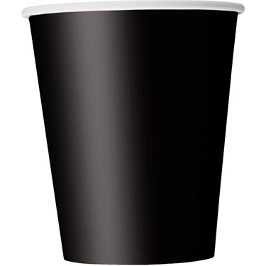 Midnight Black 9oz Cups (14)