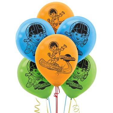 Miles From Tomorrowland Latex Balloons