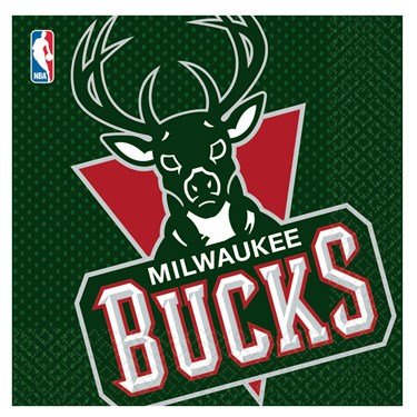 Milwaukee Bucks Basketball - Lunch Napkins