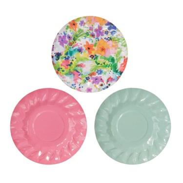 """Mini Canape Plate, 4"""" diameter, 12Pk"""