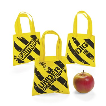Mini Construction Zone Tote Bags(12)