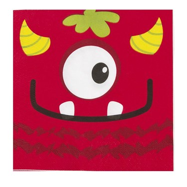 Mini Monster Lunch Napkin (16)