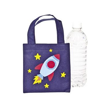 Mini Space Ship Tote Bags(12)
