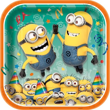 Minions Despicable Me - Dinner Plates