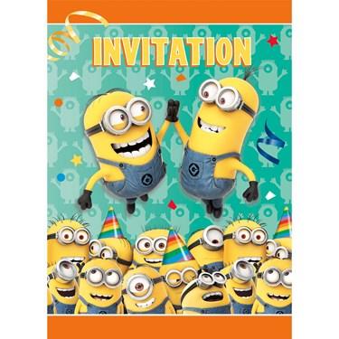 Minions Despicable Me - Invitations