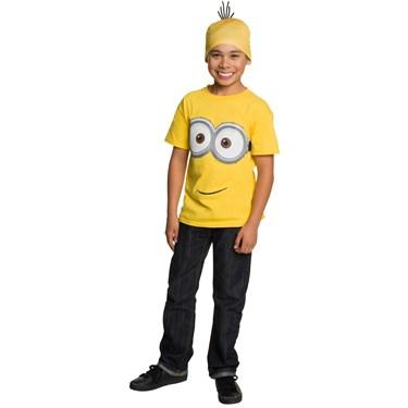 Minions Movie: Minion T-Shirt & Headpiece For Kids