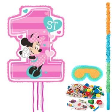 Minnie 1st Birthday Pinata Kit
