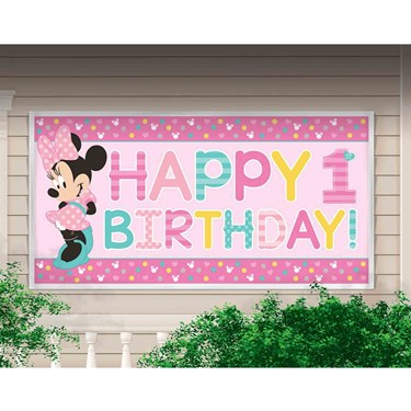 Minnie Fun To Be One Giant Banner