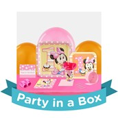 Minnie Mouse 1st Birthday Party in a Box For 8
