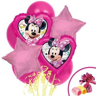 Minnie Mouse Helpers Balloon Bouquet