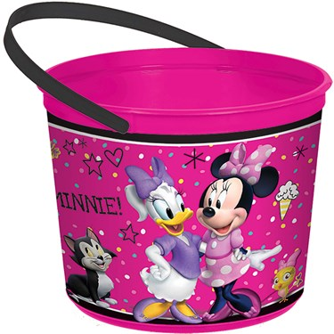 Minnie Mouse Helpers Favor Container
