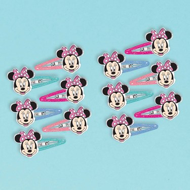 Minnie Mouse Helpers Hair Clips (12 pack)