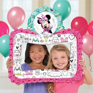 Minnie Mouse Helpers Inflatable Selfie Frame