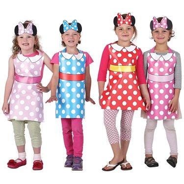 Minnie Mouse Helpers Party Wearable Kit for 8
