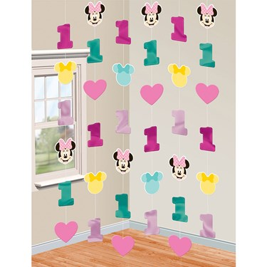 Minnie's Fun To Be One Hanging String De
