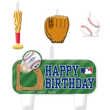 MLB Birthday Candle Set(4)