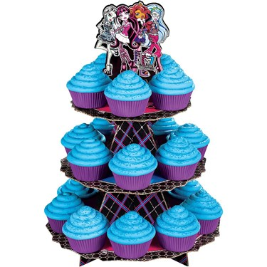 Monster High Cupcake and Treat Stand (Each)