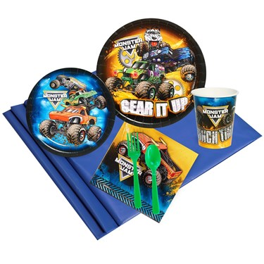 Monster Jam 16 Guest Party Pack