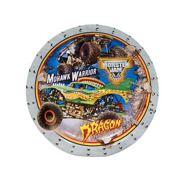 Monster Jam 3D Dessert Plates