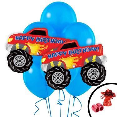Monster Truck Jumbo Balloon Bouquet