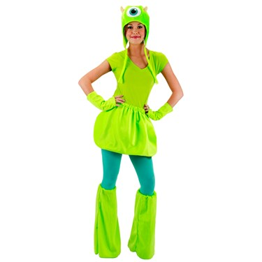 Monsters University Mike Adult Deluxe Kit
