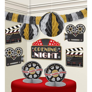 Movie Room Decorating Kit (1)