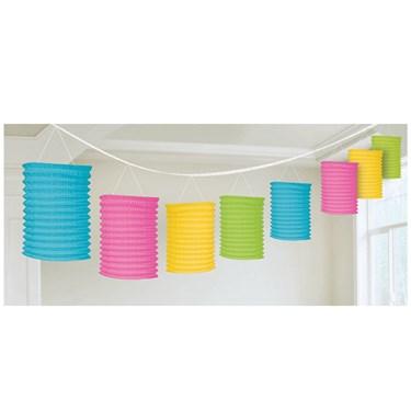 Multi Paper Lantern Garland