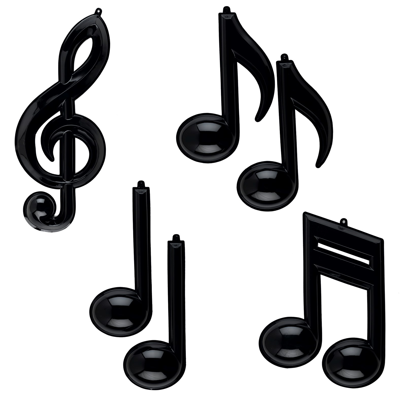Wall Decorations Music Notes : Musical note removable wall decorations birthdayexpress