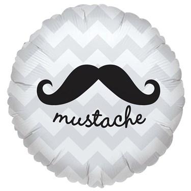 Mustache Foil Balloon