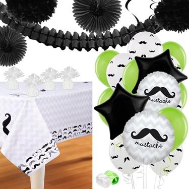 Mustache Man Deco Kit