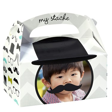 Mustache Man Personalized Empty Favor Boxes (8)