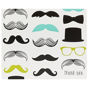 Mustache Man Thank-You Notes (8)